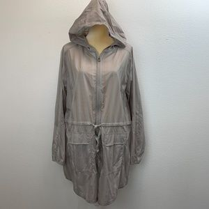 Columbia Beige Omni Shield Repellency Hood Jacket